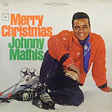 reissue lp cover - Johnny Mathis Merry Christmas