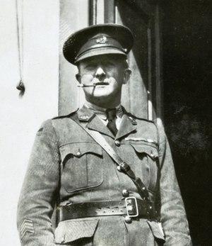Maurice Wilder-Neligan - Wilder-Neligan as a lieutenant colonel, returning to Australia in July 1919