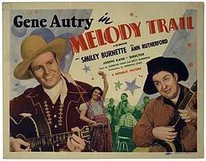 Melody Trail - Lobby card