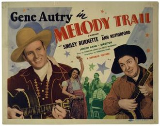 Melody Trail - Lobby card