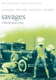 <i>Savages</i> (1972 film) 1972 film by James Ivory
