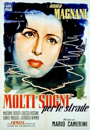 The Street Has Many Dreams - Image: Molti sogni per le strade 1948poster