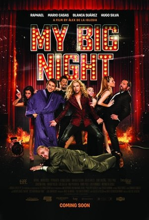My Big Night - Theatrical release poster