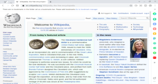 Naver Whale web browser based on the Chromium web browser