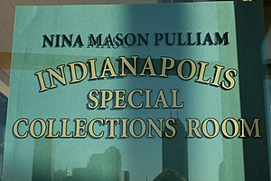 Nina Mason Pulliam Indianapolis Special Collections Room