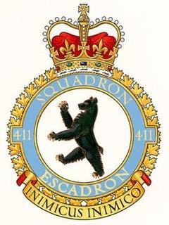 No. 411 Squadron RCAF