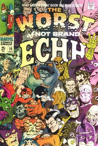 Marie Severin - Image: Not Brand Echh 10