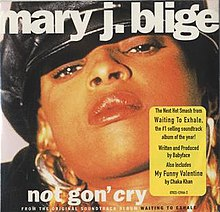 Not Gon' cry by Mary j Blige US CD single.jpg