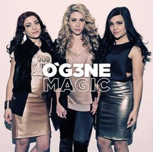 Magic (O'G3NE song) - Image: O'G3NE Magic