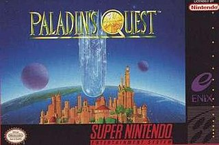 <i>Paladins Quest</i> 1992 SNES game