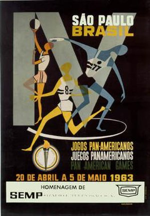 1963 Pan American Games - Image: Pan am 1963