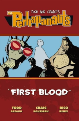 The Perhapanauts - Cover to trade paperback edition of Perhapanauts: First Blood