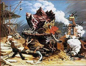 Peter Blume - The Rock, 1944-1948