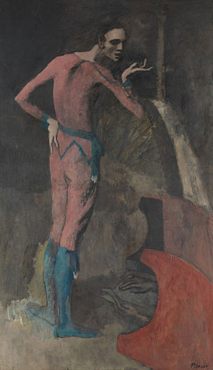 The Actor (painting) - Image: Picasso The Actor 1904