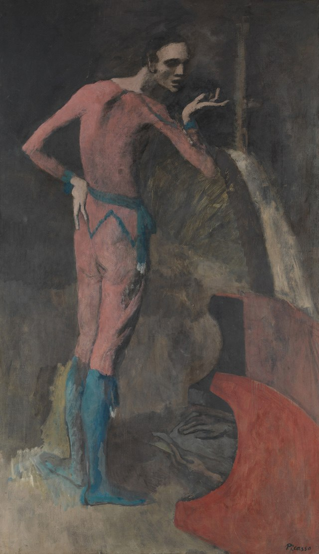Picasso The Actor 1904