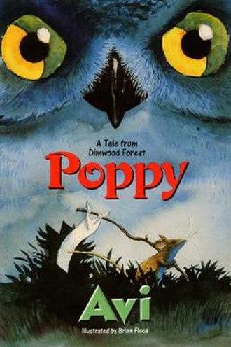 Poppy (novel) - Book cover