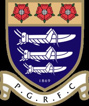Preston Grasshoppers R.F.C. - Image: Preston grassh logo