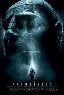 <i>Prometheus</i> (2012 film) 2012 film by Ridley Scott
