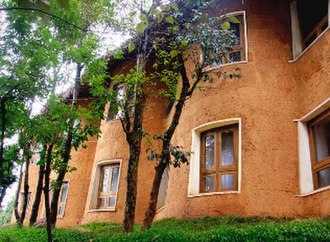 Banasura Hill Resort - Image: REARVIEWBANASURA