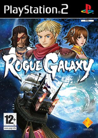 Rogue Galaxy - North American and European cover art