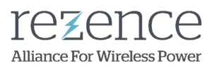 Rezence (wireless charging standard) - Official Rezence logo, representing the wireless charging standard and the Alliance for Wireless Power (A4WP).