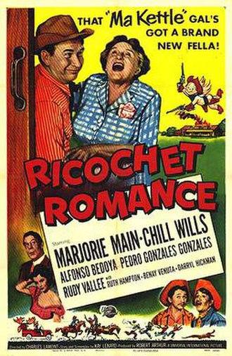 Ricochet Romance (film) - Theatrical poster