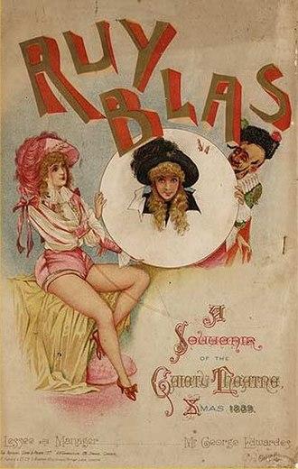 Ruy Blas and the Blasé Roué - Souvenir programme