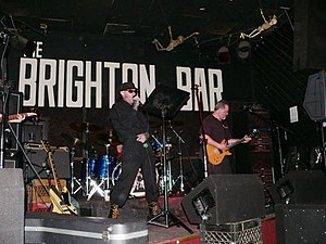 Brighton Bar - The Secret Syde performs in 2009