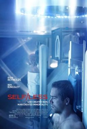 Self/less - Theatrical release poster