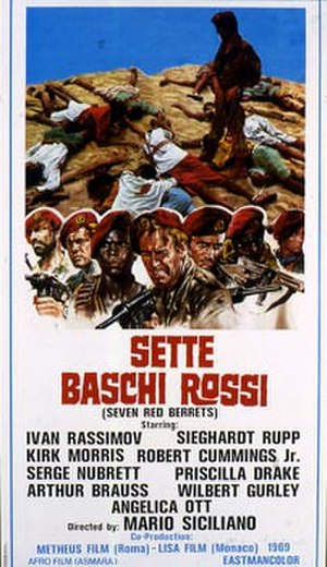 The Seven Red Berets - Original movie poster