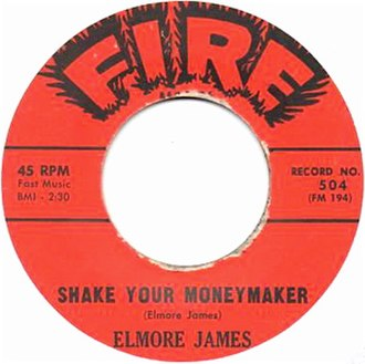 Shake Your Moneymaker (song) - Image: Shake Your Moneymaker single cover