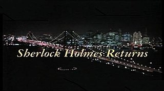 <i>1994 Baker Street: Sherlock Holmes Returns</i> 1993 television film directed by Kenneth Johnson