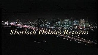 1994 Baker Street: Sherlock Holmes Returns - Image: Sherlock Holmes Returns