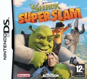 Shrek SuperSlam - PAL region Nintendo DS version cover art