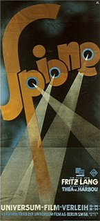 <i>Spione</i> 1928 film by Fritz Lang