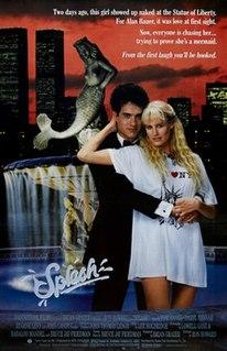 <i>Splash</i> (film) 1984 fantasy romantic comedy movie directed by Ron Howard