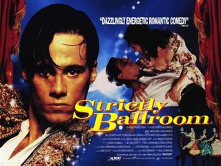 <i>Strictly Ballroom</i> 1992 film directed by Baz Luhrmann