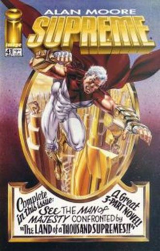 Supreme (comics) - Image: Supreme Issue 41