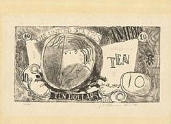 Ten Dollar Bill Lichtenstein Wikipedia