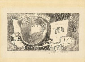 Ten Dollar Bill (Roy Lichtenstein) - Image: Ten Dollar Bill Lichtenstein