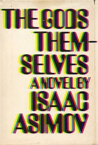 The Gods Themselves - Cover of first edition (hardcover)