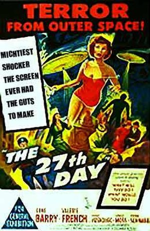 The 27th Day - Theatrical release poster