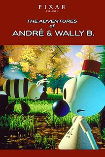 <i>The Adventures of André & Wally B.</i> 1984 animated short film directed by Alvy Ray Smith