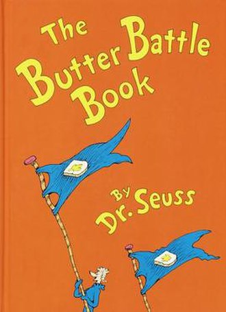 The Butter Battle Book - Image: The Butter Battle Book cover