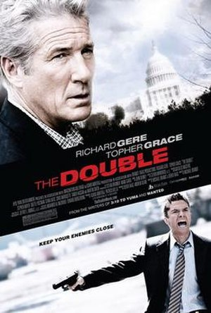 The Double (2011 film) - Theatrical release poster