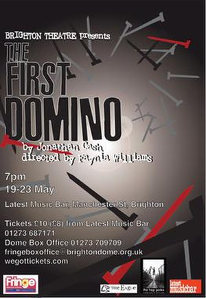The First Domino - Image: The First Domino play poster