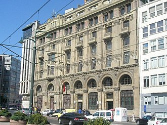 Occupation of the Ottoman Bank - The Ottoman Bank Today