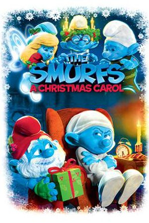 The Smurfs: A Christmas Carol - Image: The Smurfs A Christmas Carol poster
