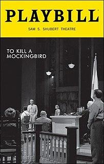 <i>To Kill a Mockingbird</i> (2018 play) Broadway adaptation based on the original novel by Harper Lee