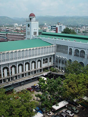 University of San Jose–Recoletos - A top view image of USJ-R main campus